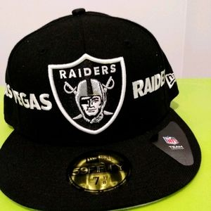 NFL Raiders New Era 7 1/8 Hat